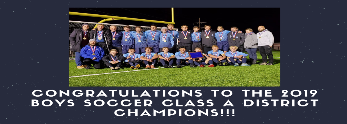 District IV Boys Soccer Champs 2019